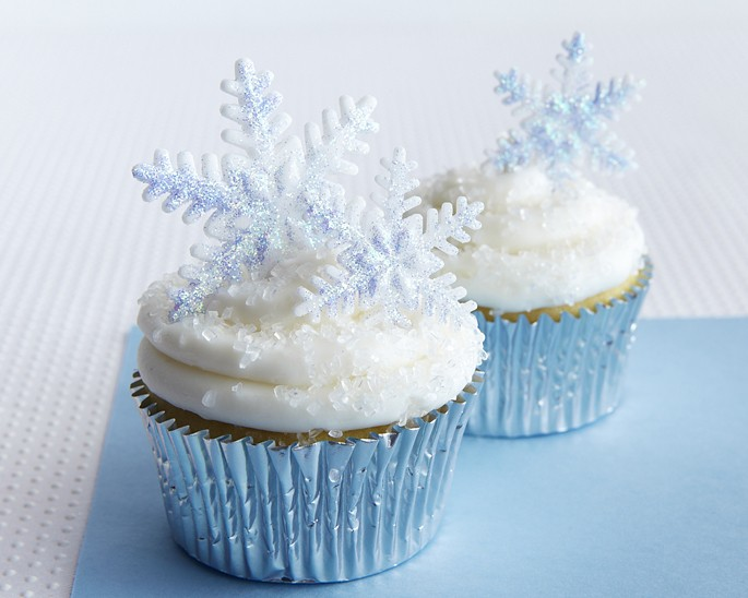 Sparkly Snowflake Cupcake How To Cakegirls