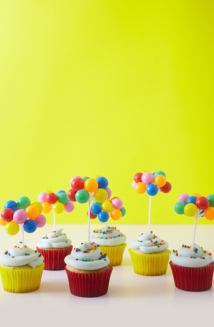 How To Make Balloon Circus Cupcakes