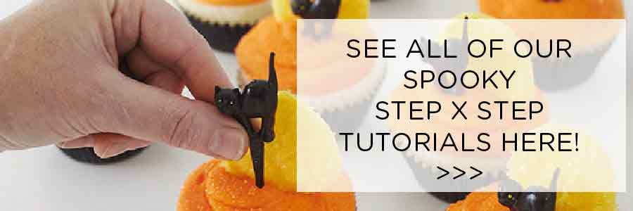 Halloween Cake Tutorials | Step x Step