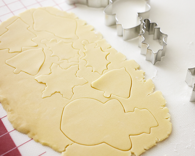 Cutting Out Sugar Cookies