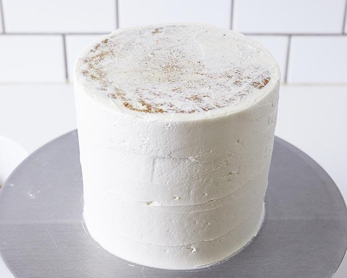 "Iced 6"" Cake"
