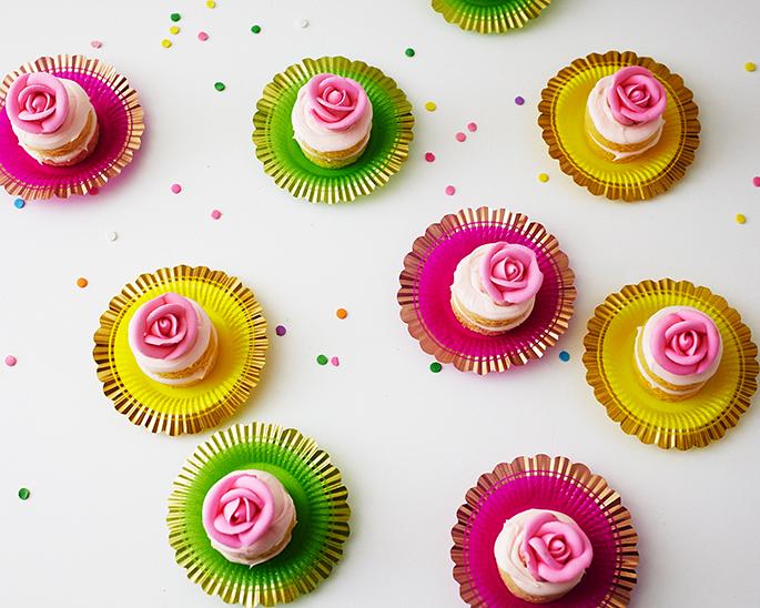 How To Make Teeny Weeny Birthday Cakes