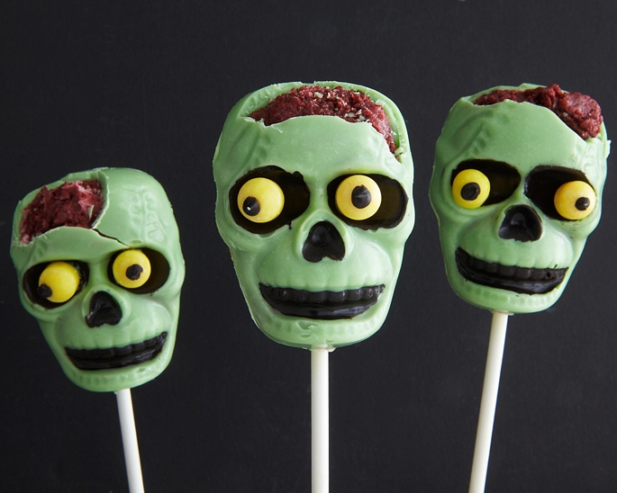 How To Make Zombie Cake Pops
