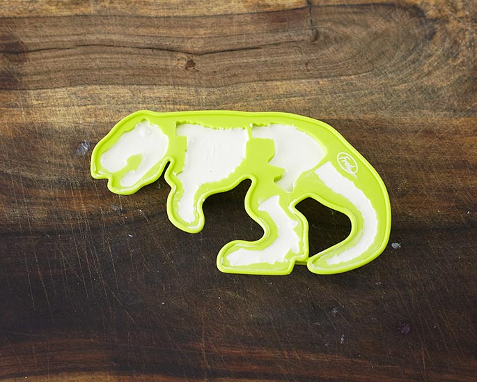 T Rex Fossil Chocolate Mold