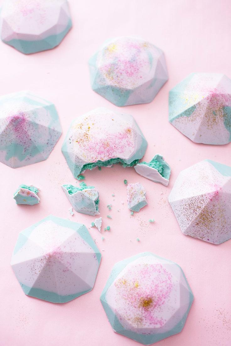 How To Make Mini Gem Cakes | Cakegirls Step x Step Tutorials