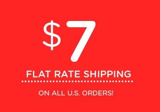 $7 Flat Rate Shipping at www.thecakegirls.com
