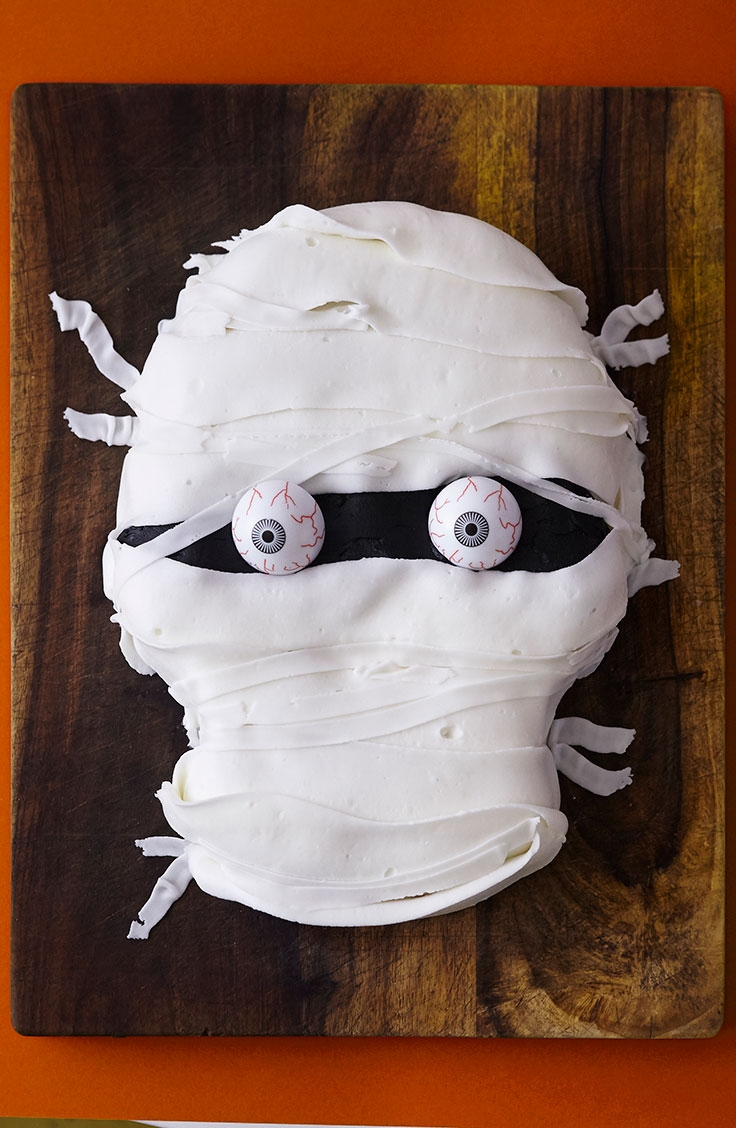 How To Make An Easy Mummy Cake