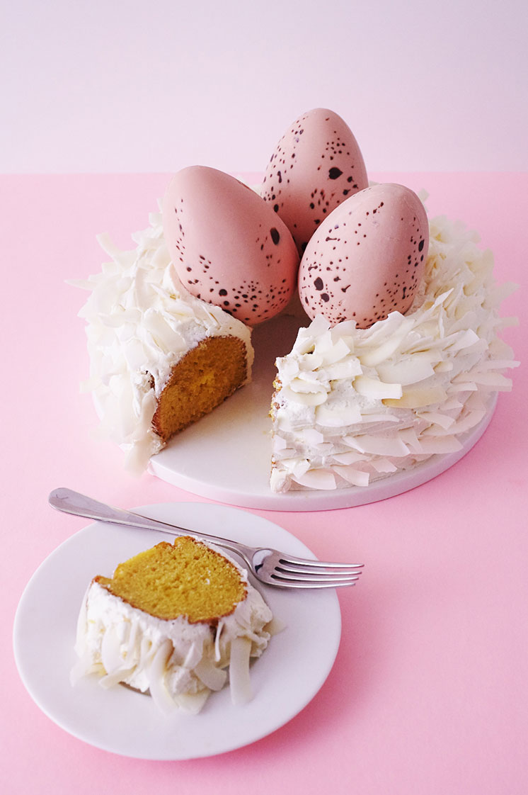 How To Make A Modern Nest Cake   Cakegirls Step x Step