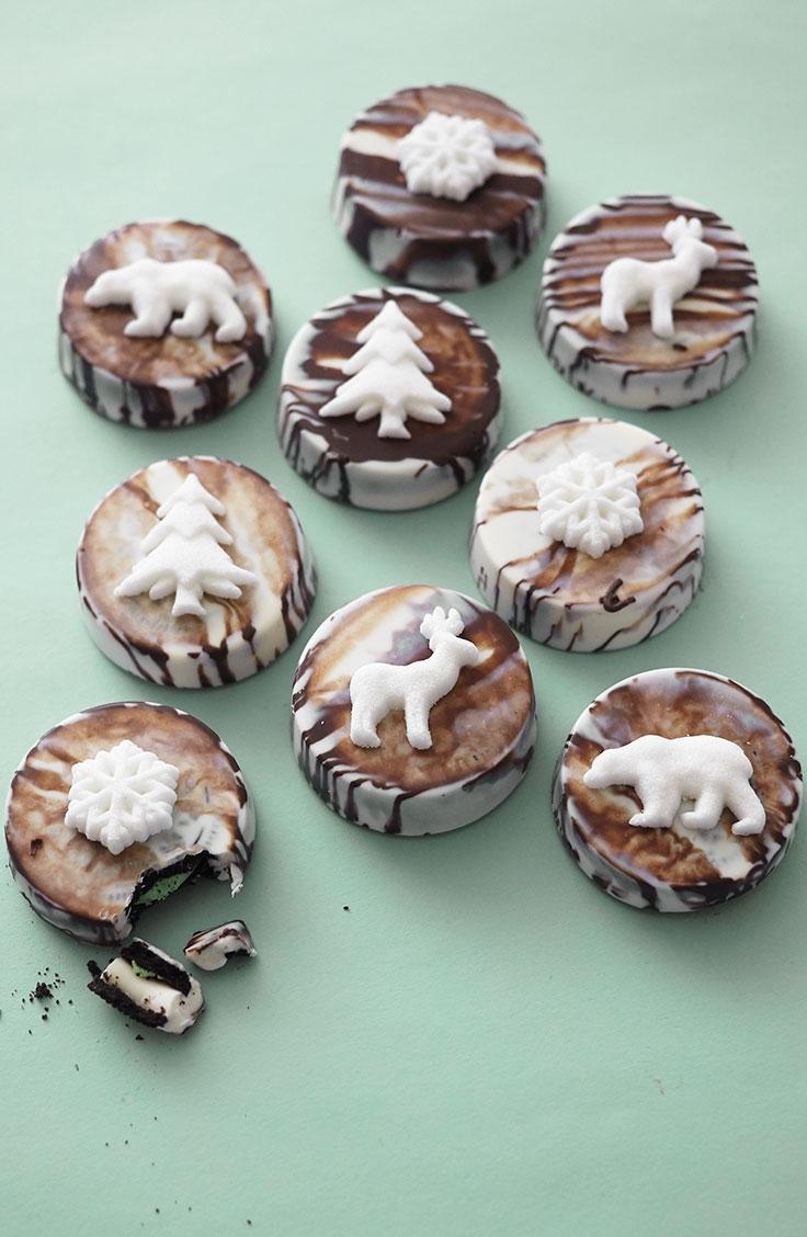 How To Make Nordic Woodland Oreo Cookies