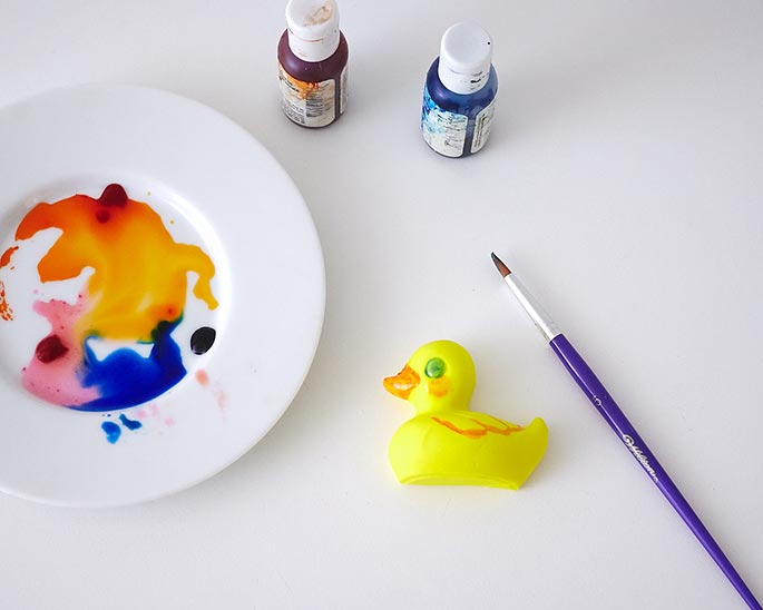 How To Make A Fondant Duckie