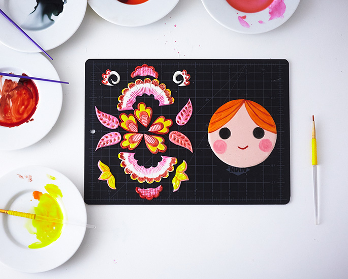 How To Make A Russian Nesting Doll Cake| Cakegirls Step x Step