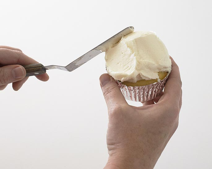 Pile your cupcakes high with buttercream