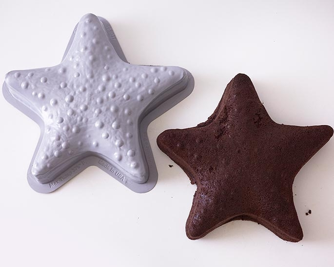 It Starts With A Starfish Shaped Cake Pan