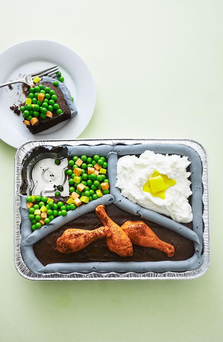 How To Make A TV Dinner Cake